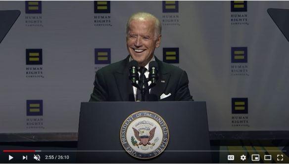 Biden at HRC dinner