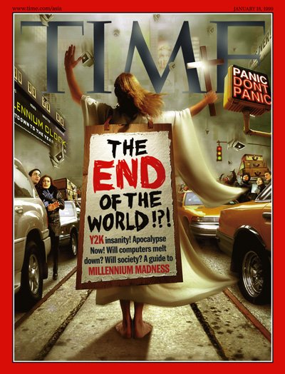 time magazine cover Y2K