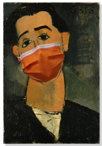 modigliani with mask